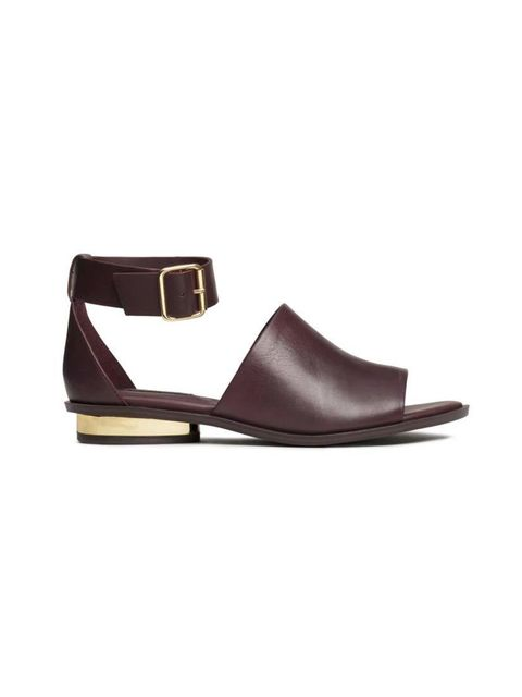 "<p>Senior Fashion Editor Michelle Duguid snapped up these leather sandals.</p>  <p><a href=""http://www.hm.com/gb/product/92403?article=92403-A"" target=""_blank"">H&M</a> sandals, £39.99</p>"