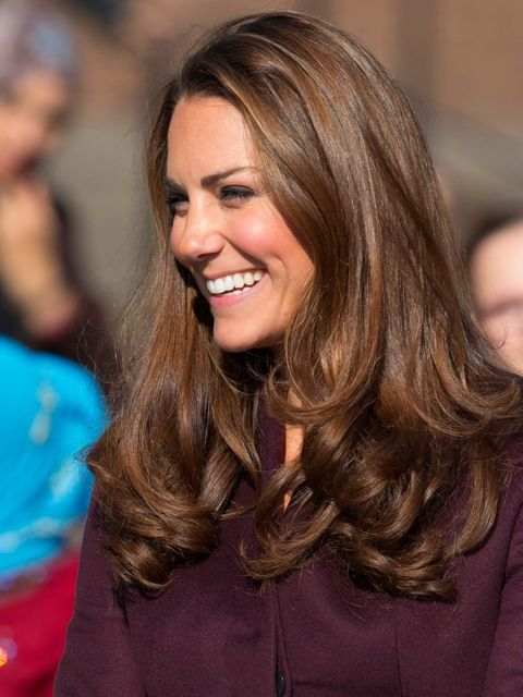<p>Kate Middleton is the ultimate poster girl for the beautiful blow-dry. Her take on the trend? Groomed, glossy and perfectly formed curls that fall just below her shoulders.</p><p>Duplicate the Duchess's style at home with Glimmer Shine Spray, £18.65 by