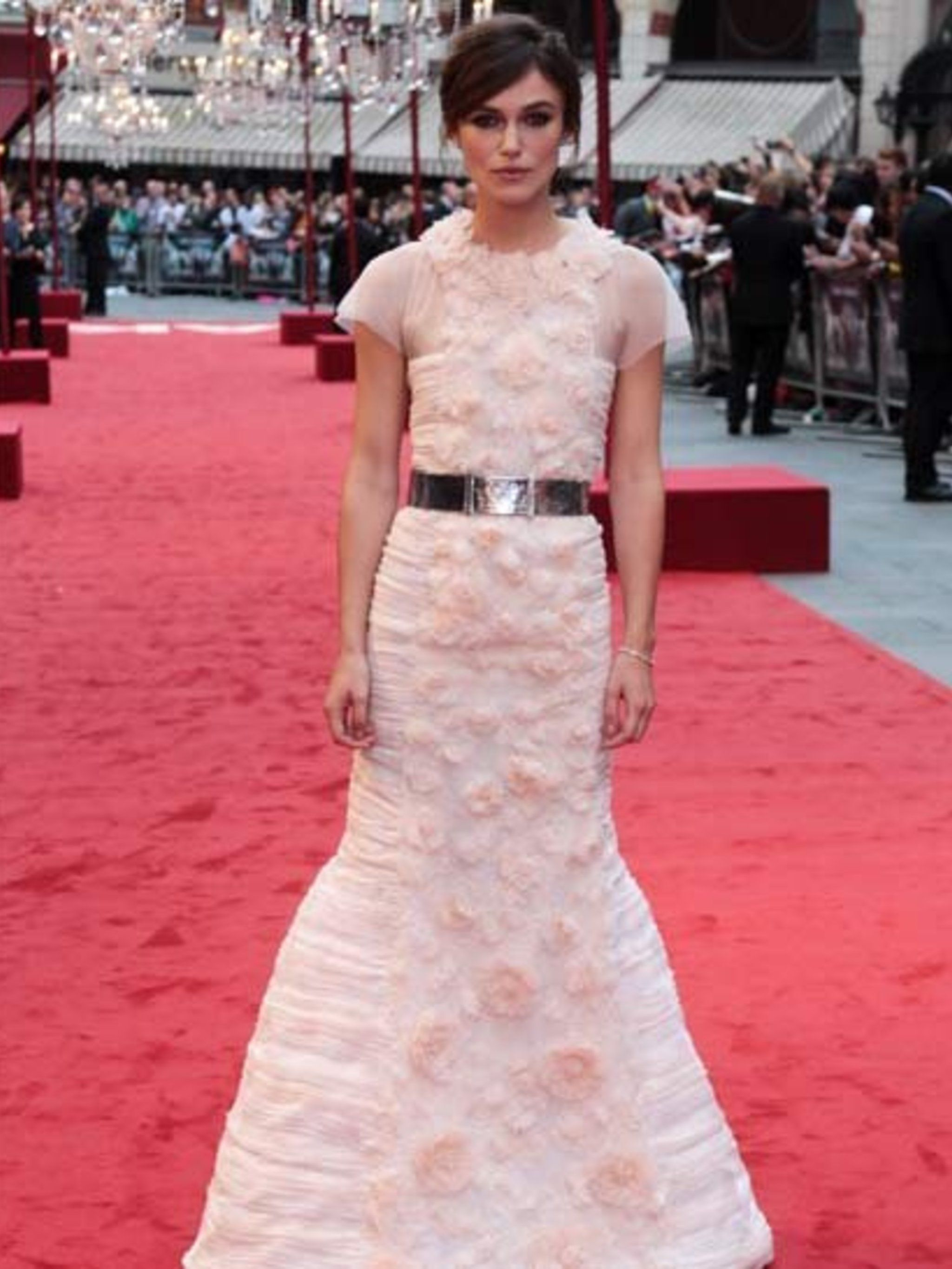 <p>Keira Knightley dazzled at the World Premiere of Anna Karenina in London wearing Chanel.</p>