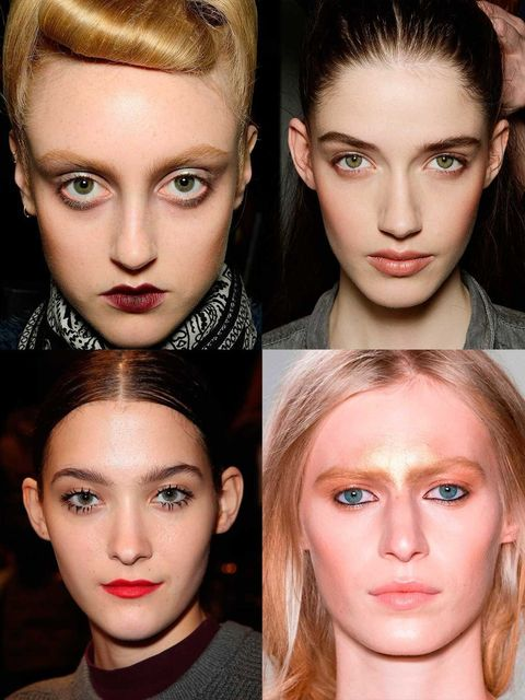 "<p>Our definitive edit of the best make-up looks to come out of Milan Fashion Week a/w 14; from <a href=""http://www.elleuk.com/catwalk/designer-a-z/dolce-gabbana"">Dolce and Gabbana's</a> signature flicked eyeliner to Pucc"