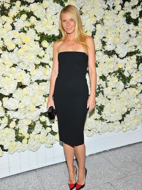 Gwyneth Paltrow attends a dinner to celebrate the arrival of Victoria Beckham's Collection to Barneys in New York, April 2015.