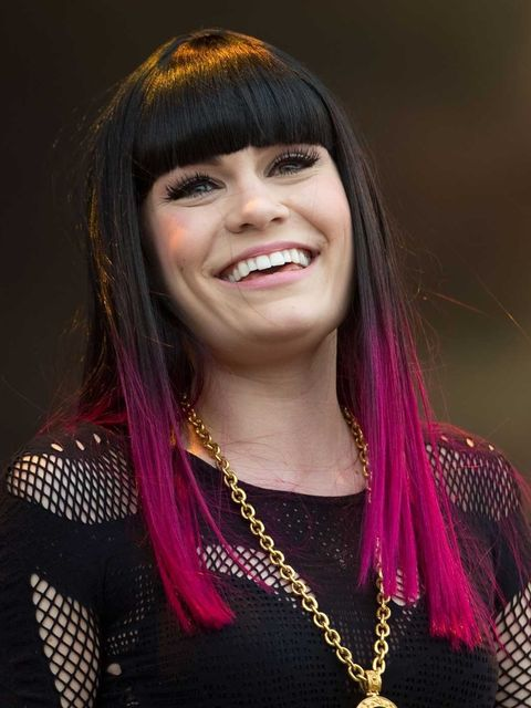 <p>Jessie J performing at the Isle of Wight festival</p>
