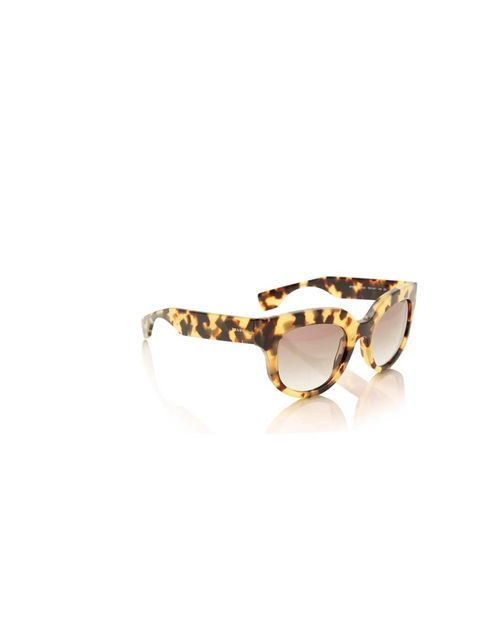 """<p>Shield your eyes from the cold, hard light of January with these sophisticated tortoiseshell sunnies.</p><p>Prada sunglasses, £230 at <a href=""""http://www.liberty.co.uk/fcp/product/Liberty//Brown-Camouflage-Poeme-Acetate-Sunglasses/97835"""">Liberty</a></p"""
