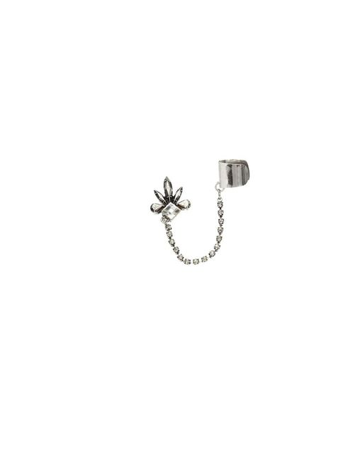 "<p>This earcuff is perfect for adding an instant edge to any look.</p><p>- Jules Kosciuczyk, Fashion Features Assistant</p><p><a href=""http://uk.accessorize.com/view/product/uk_catalog/acc_2,acc_2.1/4812371200"">Accessorize</a> earcuff, £8</p>"