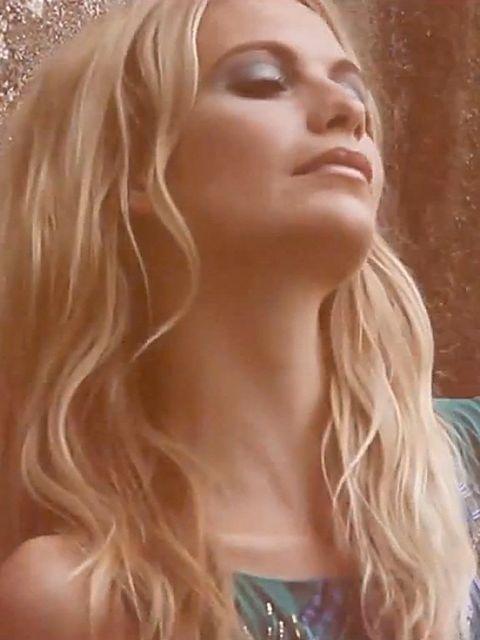 <p>Poppy Delevingne wearing Matthew Williamson in his anniversary video</p>