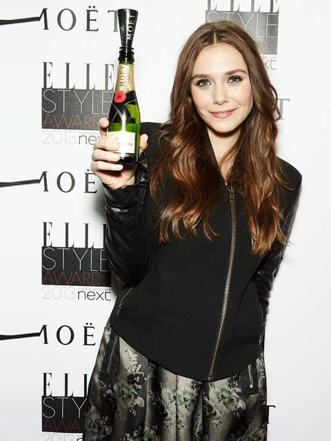 <p>Elizabeth Olsen's charity is yet to be decided.</p>