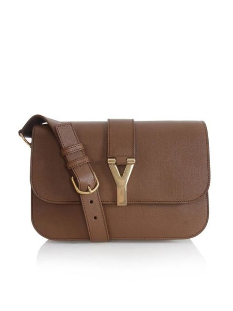 """<p>Yves Saint Laurent brown leather shoulder bag, £1,195, at <a href=""""http://www.matchesfashion.com/fcp/product/Matches-Fashion//yves-saint-laurent-YSL-Y-247695-CDT0G-bags-BROWN/40222"""">Matches</a></p>"""