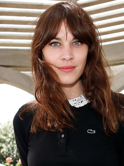 "<p><a href=""http://www.elleuk.com/star-style/celebrity-fashion-trends/a-list-celebrities-at-coachella-2013-music-festival"">Alexa Chung'</a>s easy signature hairstyle if perfectly low-maintenance for a festival, and adds a touch of glamour with subtle liqu"
