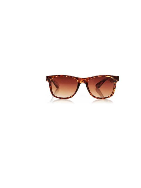 "<p>It wouldn't be right to wear a tropical print without a killer pair of sunglasses. This androgynous tortoiseshell pair will look great on the beach...and on the way to the office! <a href=""http://www.oasis-stores.com/wayfarer-sunglasses/sunglasses/oasi"