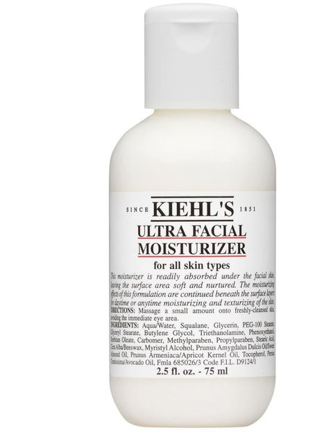"""<p><a href=""""http://www.kiehls.co.uk/skin-care/by-category/moisturizers/ultra-facial-moisturizer-spf-15.aspx"""">Kiehl's Ultra Facial Moisturizer SPF15, £17</a></p><p>Dr Nick Lowe recommends using 'a daily SPF15 or above to prevent future damage'. ELLE loves"""