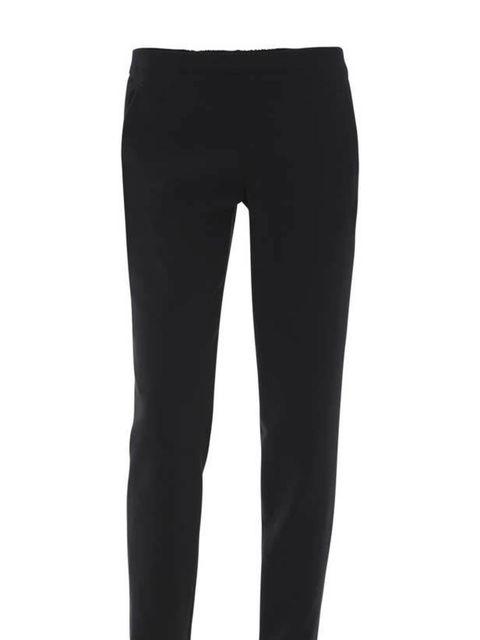 <p>Sykes wool trousers, £345, at Matches</p>