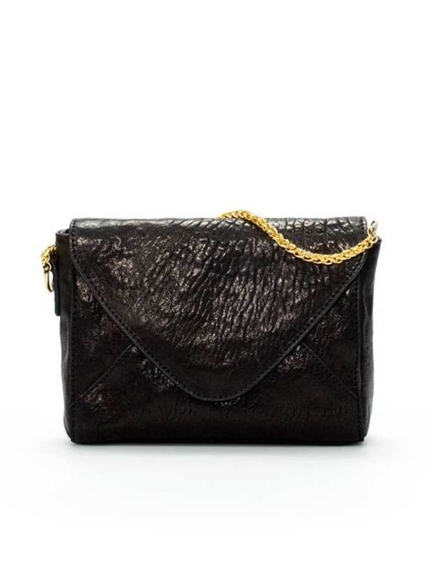 "<p><a href=""http://www.zara.com/webapp/wcs/stores/servlet/product/uk/en/zara-sales/11025/199172/CHAIN%2BCLUTCH"">Zara</a> small black clutch, £49.99</p>"