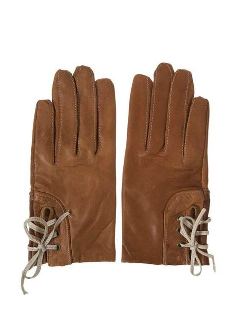 <p>Topshop leather gloves, £16, for stockists call 0845 121 4519</p>