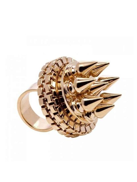 "<p><a href=""http://www.mawi.co.uk/onlinestore.html"">Mawi</a> Rajah crown ring, £243</p>"