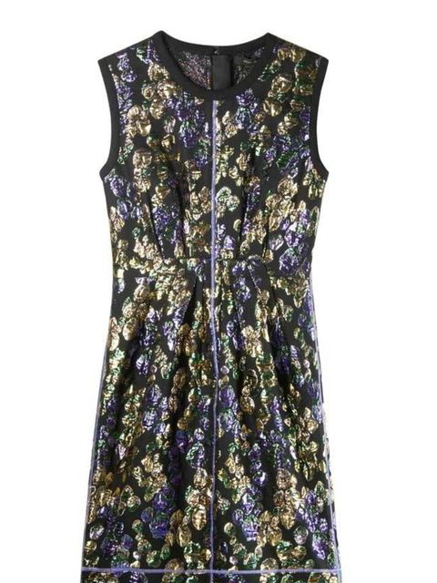 "<p>Marc Jacobs brocade cotton dress, £79 for 2 nights, at <a href=""http://hire.girlmeetsdress.com/products/brocade-cotton-dress"">girlmeetsdress.com </a></p>"