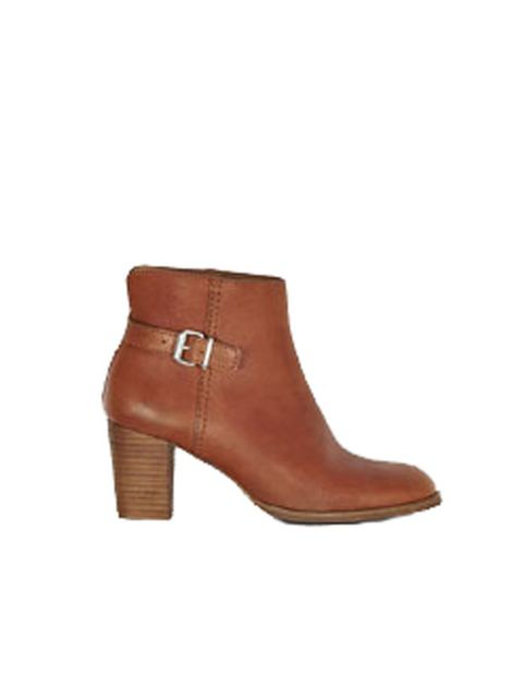 <p> </p><p>The perfect rain proof ankle boots have finally hit the high street. If you've been lusting after the Chloe ankle boots then head to COS for these fab alternatives. COS leather ankle boots, £129, for stockists call 0207 478 0400 </p>