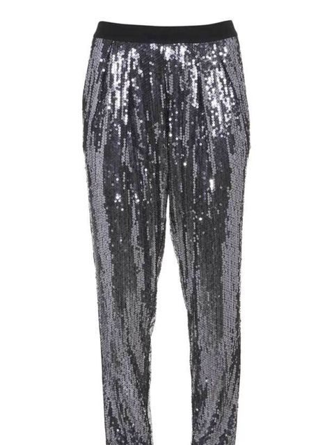 """<p><a href=""""http://www.warehouse.co.uk///warehouse/fcp-product/302826"""">Warehouse</a> sequin trousers, £60</p>"""
