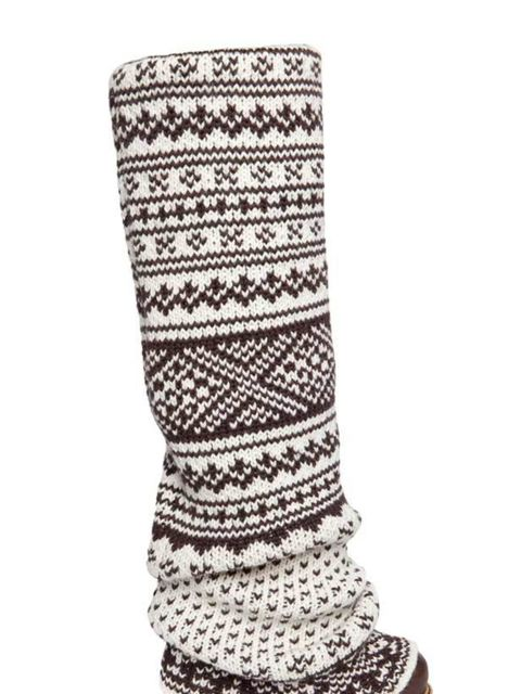 <p>D&G Fair Isle knitted boots, £705, for stockists call 0207 495 9250</p>