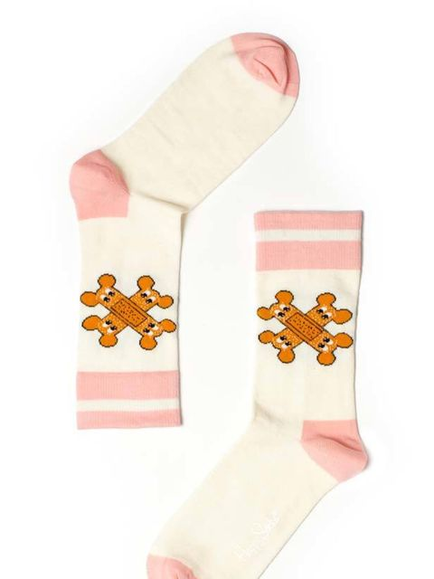 """<p> </p><p> </p><p>Brighten up your sock drawer with these quirky socks from our favourite collaboration of the year. <a href=""""http://www.happysocks.com/category/giles_x_happy_socks"""">Happy Socks</a> x Giles Deacon printed socks, £70 for box of 7 </p>"""