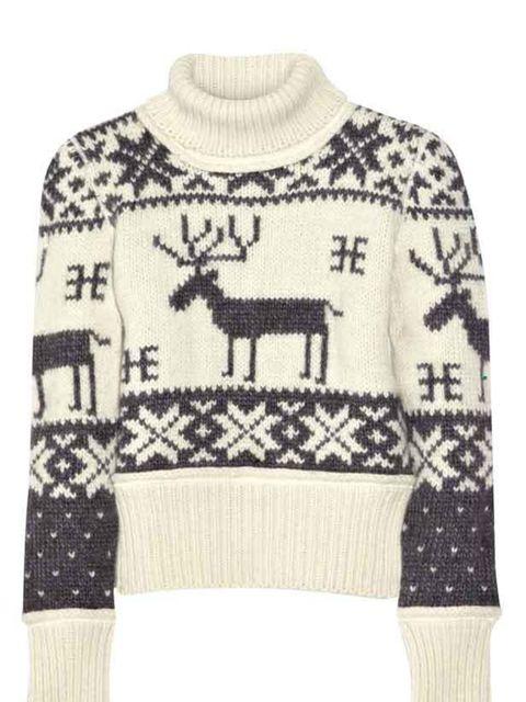 <p>D&G fairisle sweater, £250, for stockists call 020 7495 9250</p>