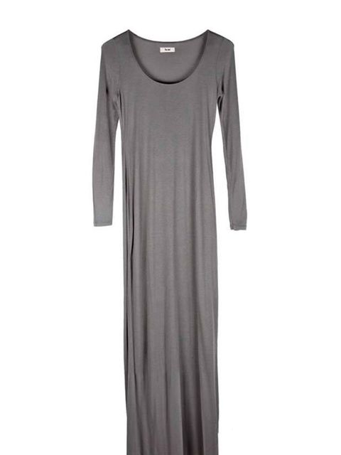 """<p>The maxi trend is set to continue into next season but for now this luxe jersey dress by Acne chicly combines comfort and style for the office or weekend. Acne maxi dress, £110, at <a href=""""http://www.start-london.com/shop/womens-c-3.html?manufacturers"""