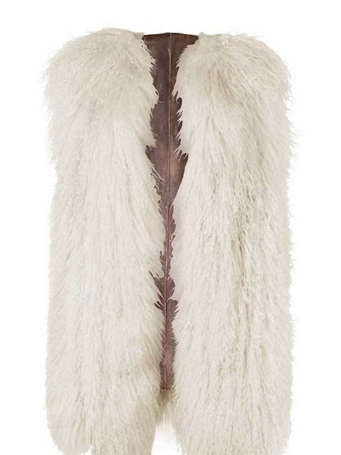 <p>Add a luxe edge to winter walks with this shearling gilet from Hilfiger Denim's new capsule collection… Hilfiger Denim shearling gilet, £225, for stockists call 0207 479 7550</p>