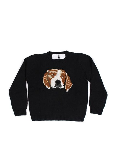 "<p>Peter Jensen dog print jumper, £233, at <a href=""http://goodhoodstore.com/?page=51&id=1481&type=womens"">Goodhood </a></p>"