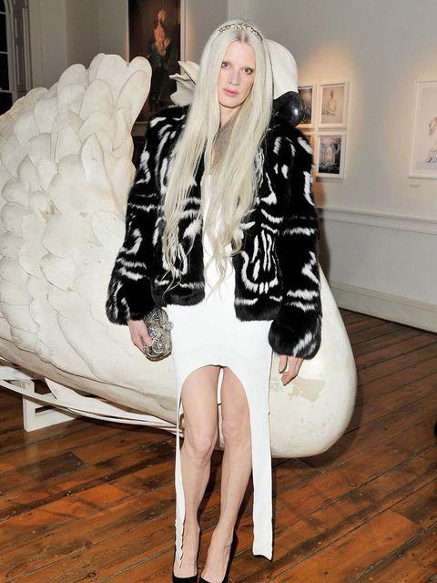 <p>Kristen McMenamy in Givenchy by Riccardo Tisci</p>