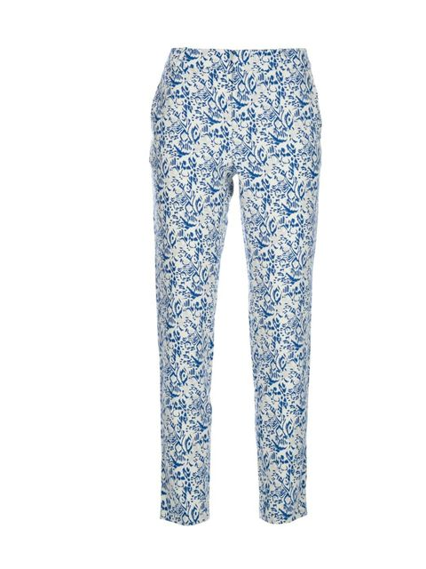 """<p>Make a style statement in these perfect-for-spring printed trousers… Vanessa Bruno Athe printed silk trousers, £199, at Farfetch</p><p><a href=""""http://shopping.elleuk.com/browse?fts=vanessa+bruno+athe+cropped+silk+trouser+farfetch"""">BUY NOW</a></p>"""