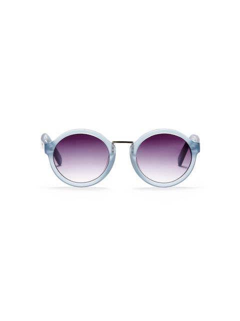 """<p><a href=""""http://www.whistles.com/women/sale/accessories/daria-round-frosted-sunglasses-18735.html?dwvar_daria-round-frosted-sunglasses-18735_color=Clear#start=1"""" target=""""_blank"""">Whistles sunglasses</a>, were £75, now £37</p>"""