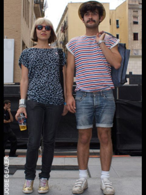 <p>Natalia Benavente, 26, music producer, wearing t shirt from Topshop and jeans from Peacocks</p>