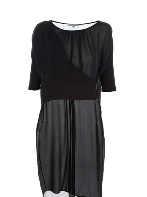 """<p> </p><p>Understated and ultra chic chic, this sheer black tunic dress will ensure you're stylish from the office to a dinner date… Dagmar sheer dress, £179, at <a href=""""http://www.no-one.co.uk/item10061489.aspx"""">No-One</a></p>"""