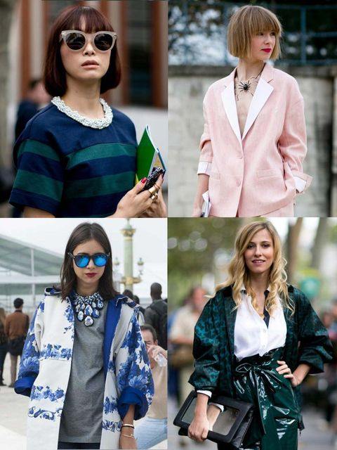 """<p>Even as the last model walked the runway at <a href=""""http://www.elleuk.com/style/street-style/paris-fashion-week-street-style"""">Paris Fashion Week</a>, the people's costume drama raged on. Raising the bar with their high pattern, colour-clashing separat"""