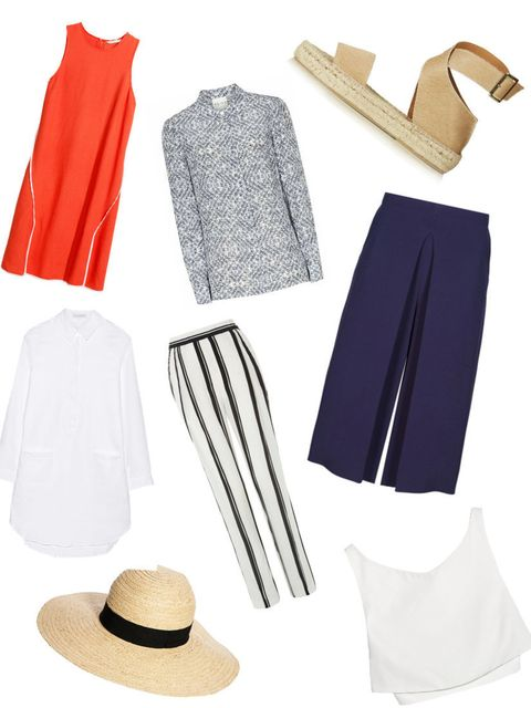 <p>We've all been there. The sun comes out, closely followed by the holiday wardrobe. One minute you're a Celine-loving, minimalist power-dresser, the next you're head-to-toe in tie-dye and wielding a wicker basket. </p><p>A rise in the mercury is enough