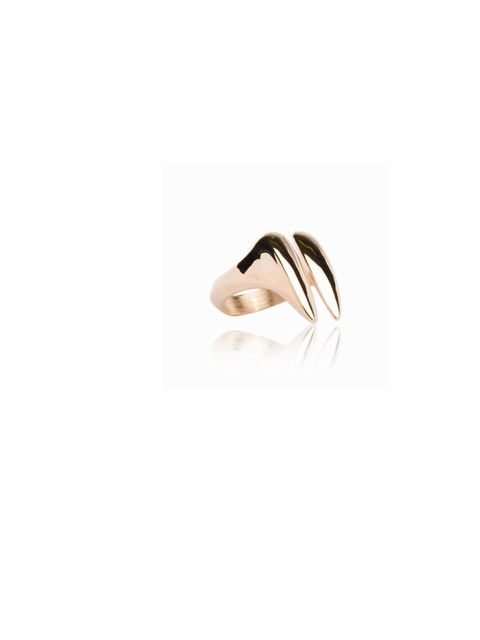 """<p>We love the quirky fang design of this rose gold vermeil ring&#x3B; it's classic, but with an edge - a real forever piece... <a href=""""http://www.katie-rowland.com/lilith-fang-ring-p/lil15r.htm"""">Katie Rowland</a> ring, £160</p>"""