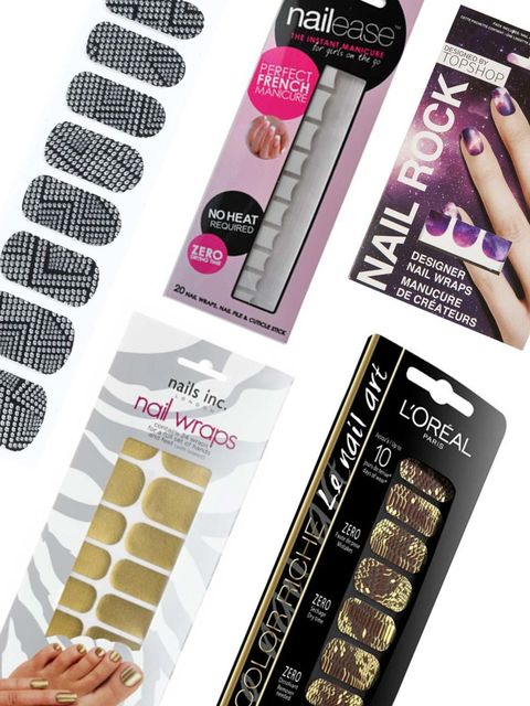 <p>We all love the look of freshly painted nails but sometimes the hassle, and the potential mess, is enough to put us off our usual manicure regime. Cue nail wraps, the lazy girls answer to perfect nails in an instant.</p><p>Now available in countless st