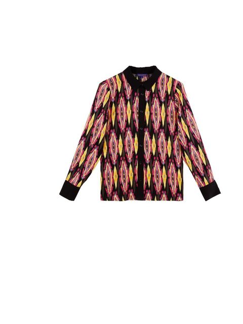 <p>Vaudeville & Burlesque printed shirt, £65, at Urban Outfitters, for stockists call 0203 219 1944</p>