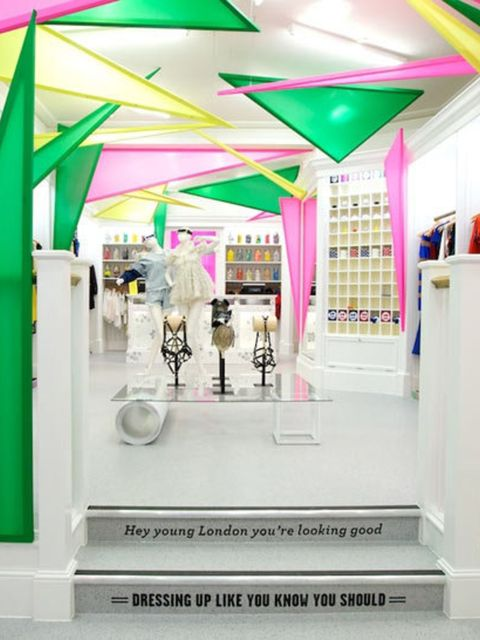 <p>The new Opening Ceremony pop-up shop in London</p>