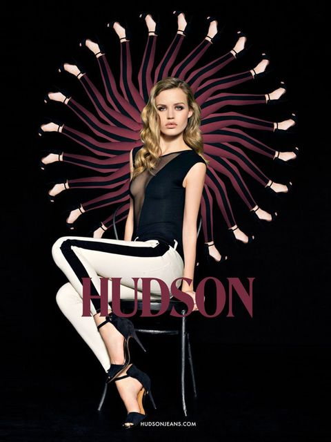 <p>Georgia May Jagger in the Hudson 10th Anniversary campaign</p>