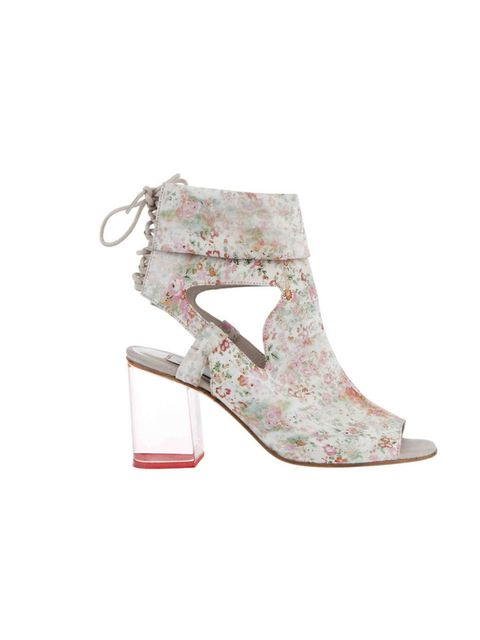 """<p>b Store x Liberty perspex heel floral sandals, £245, at <a href=""""http://www.liberty.co.uk/search?productsPerPage=60&keywords=b+store&x=0&y=0"""">Liberty</a></p>"""