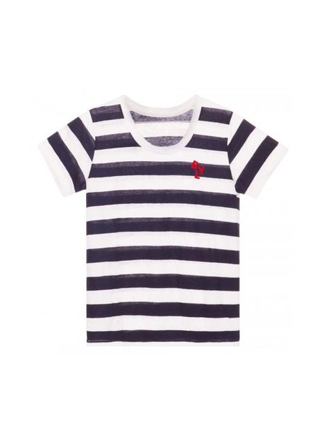 "<p>Fashion Assistant Molly Haylor will be seaside-ready in this breton tee.</p><p><a href=""http://www.bimbaylola.com/shoponline/product.php?id_product=10197&id_category=551"">Bimba y Lola</a> t-shirt, £48</p>"