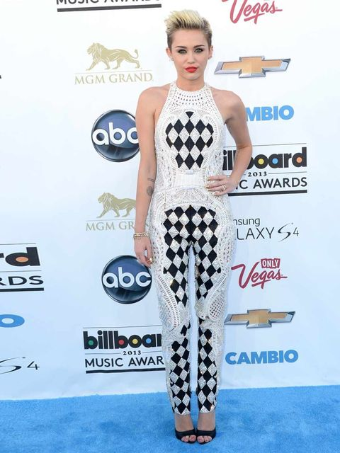 """<p>Our girl <a href=""""http://www.elleuk.com/fashion/news/miley-cyrus-elle-magazine-cover-june-2013"""">Miley Cyrus</a> showed how it was done in gem-encrusted spring/summer 2013 <a href=""""http://www.elleuk.com/catwalk/designer-a-z/balmain/autumn-winter-2013"""">B"""