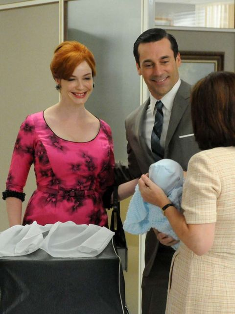 <p>Christina Hendricks as Joan Holloway on Mad Men</p>