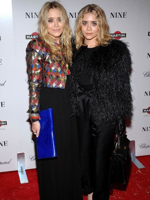 <p>Mary-Kate & Ashley Olsen </p>