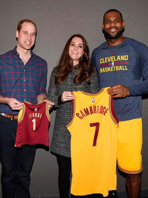<p>3. When LeBron James gave Kate an against-protocol sweaty embrace, and Kate didn't flinch.</p>