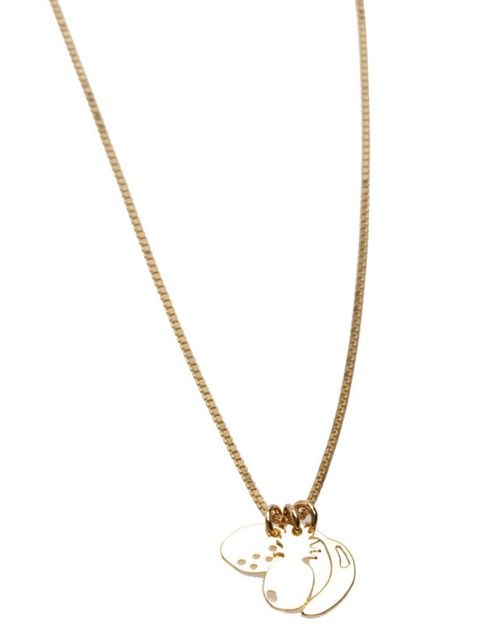 "<p><a href=""http://www.sabrinadehoff.com/"">Sabrina Dehoff</a> charm necklace, from £95</p>"