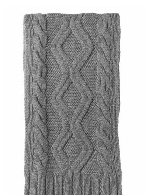 <p>Banana Republic cashmere aran scarf, was £98 now £59.99, for stockists call 0207 758 3550</p>