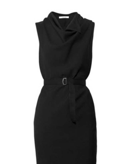 "<p>Carven wool drape dress, was £265, now £195, at <a href=""http://www.seftonfashion.com/"">Sefton</a> </p>"