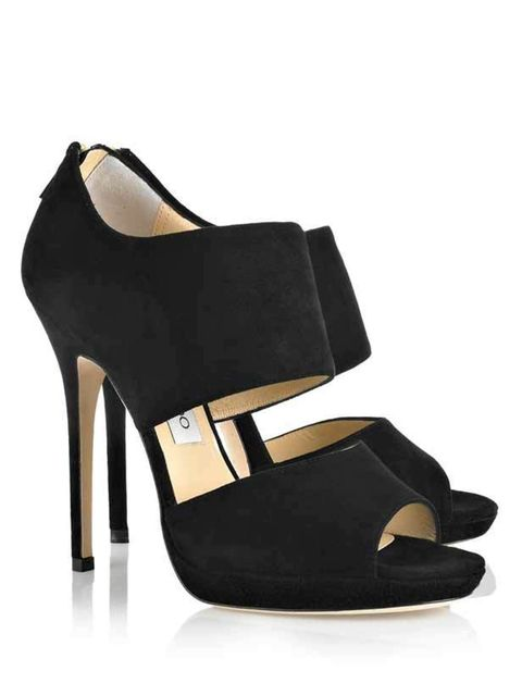 "<p>Jimmy Choo 'Private' suede sandals, £550, at <a href=""http://www.net-a-porter.com/product/95012"">Net-a-Porter</a></p>"