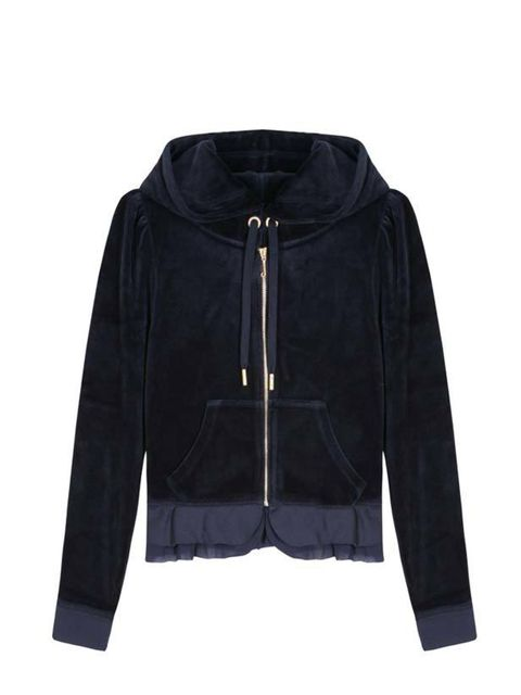 "<p>Juicy Couture Love Plumes hoodie, £106.33, at <a href=""http://www.mytheresa.com/shop/LOVE-PLUMES-HOODIE-p-15095.html"">my-theresa.com</a></p>"